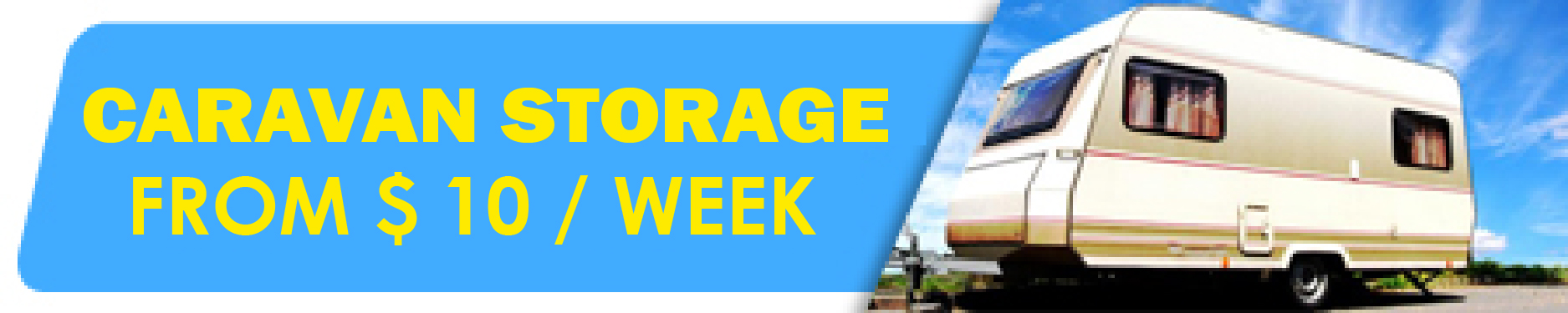 Caravan Storage in Adelaide from $15 per week - Access Storage
